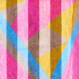 Abstract background in trendy retro 80s, 90s memphis style. Universal card, pastel colors. Retro design, fashion art. Modern geometric background in pink, blue royalty free stock images
