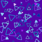 Abstract background with triangle Stock Photo