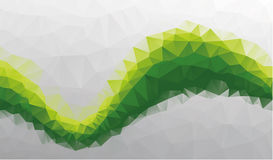 Abstract background triangle