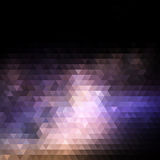 Abstract background with triangle pattern Stock Photo
