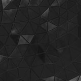 Abstract background of triangle polygons background. Stock Photo