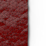 Abstract background of triangle polygons background. Red. 3D rendering Royalty Free Stock Images
