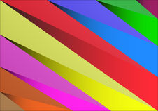 Abstract background triangle vibrant color Stock Photo