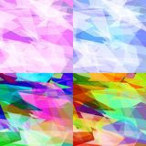 Abstract background of triangles Royalty Free Stock Photos