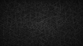 Abstract background of triangles. Abstract background of randomly arranged contours of triangles in black colors Stock Illustration