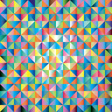 Abstract background of triangles Stock Photos