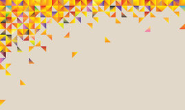 Abstract background of triangles Stock Photography