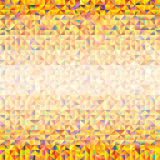 Abstract background of triangles. Of different colors royalty free illustration