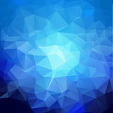 Abstract background. Abstract triangles. Geometric background in  resizable  format Stock Image