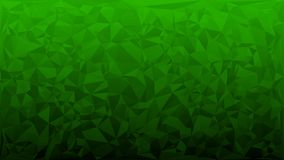 Abstract background of triangles. In green colors Royalty Free Stock Photos