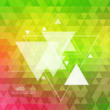Abstract background with triangles. Abstract background with hipster triangles. Triangle pattern background. For cover book, brochure, flyer, poster, magazine vector illustration