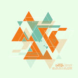 Abstract background with triangles. Abstract background with hipster triangles. Triangle pattern background. For cover book, brochure, flyer, poster, magazine royalty free illustration