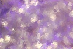 Abstract background of triangles Stock Image