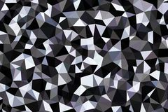 Abstract background of triangles Stock Images