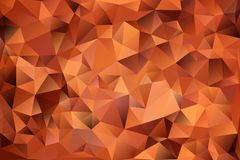 Abstract background of triangles. Multicolored abstract background of effect geometric triangles Royalty Free Stock Photography