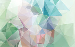Abstract background of triangles polygon wallpaper Stock Photo