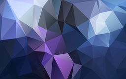 Abstract background of triangles polygon wallpaper. Web design Royalty Free Stock Image