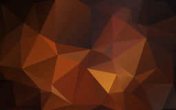 Abstract background of triangles polygon wallpaper. Web design Stock Photo