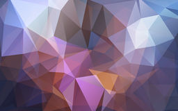 Abstract background of triangles polygon wallpaper. Web design Royalty Free Stock Photo