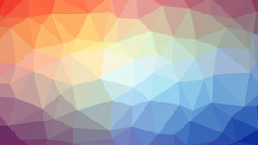 Abstract background with triangles. Raster №8 Royalty Free Stock Photo