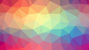 Abstract background with triangles. Raster №3 Stock Image
