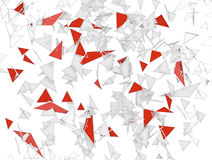 Abstract background with triangles Stock Photography