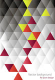 Abstract background from triangles Stock Images