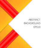 Abstract background with triangles on a white background. Royalty Free Stock Photography