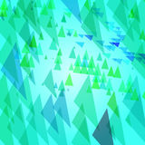 Abstract background with triangular elements Royalty Free Stock Images