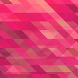 Abstract Background with Triangular Mosaic Stock Photography