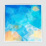 Abstract  background with Triangular pattern Stock Photo