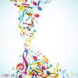 Abstract background with tunes. Royalty Free Stock Images