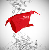 Abstract background with tunes. Royalty Free Stock Image