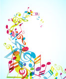 Abstract background with tunes. Stock Photos