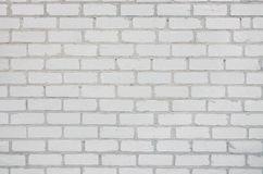 Abstract background with twelve full rows of white silicate brick Royalty Free Stock Images