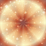Abstract background with twinkling stars. Illustration royalty free illustration