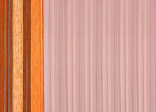 Abstract background of two different of fabrics Stock Images