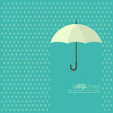 Abstract background with  umbrella Stock Photography
