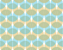 Abstract background. Undulating curves are intertwined. Simple and easy pattern. Horizontal orientation Royalty Free Stock Photo