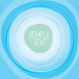 Abstract  Background Vector. Abstract blue Circle Background Vector Royalty Free Stock Images