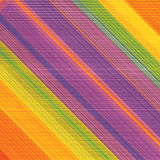 Abstract Background Vector. Colorful Abstract Background: Scratchy Rainbow Surface - Illustration in Freely Scalable & Editable Vector Format Stock Photography