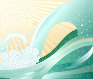 Abstract background - vector stock illustration