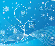Abstract background - vector. Abstract background winter vector illustration royalty free illustration