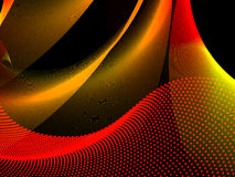 Abstract background, vector. Without mesh, use only linear gradient Stock Photo