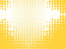 Abstract background, vector. Halftone effect, illusion of the gradient, place for text stock illustration