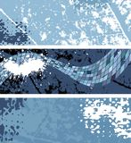 Abstract background, vector. Set of abstract banners, vector without gradient stock illustration