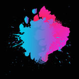 Abstract background. Abstract vector with bright color spot background Stock Image