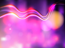 Abstract background. Vector abstract background with bright colored flares and flashes Stock Images