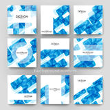 Abstract background vector brochure template. Flyer Layout. Creative modern design Stock Images