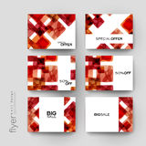 Abstract background vector brochure template. Flyer Layout. Creative modern design Stock Photos